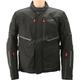 Tech Black Mondial Laminate Waterproof Motorcycle Riding Jacket