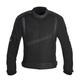 Black/Gray Spartan Mesh Short Waterproof Textile Motorcycle Riding Jacket