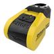 Yellow/Black Quartz XA6 Disc Lock w/Alarm & 3 Keys - LK270