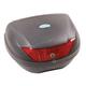 Black/Red 24 Liter Top Box Hard Luggage Case - OL200