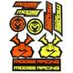 Yellow/Orange Decal Sheet  - 4320-2206