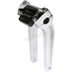 Chrome 9 1/2 in. Pullback Risers with Gauge Cutout - TSC-9500-3