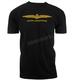 Black Goldwing Old School T-Shirt