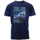 Denim Blue Goldwing Route 66 T-Shirt
