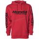Red Honda Racing Sponsor Hoody