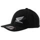 Black Honda Pinstripe FlexFit Hat