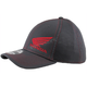 Charcoal/Red Honda New Era Fitted Hat