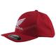 Red Honda Curved Bill FlexFit Hat