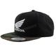 Black/Camo Honda Two-Tone Trucker Snapback Hat - HL-751-0-CM/BLK-