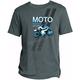 Charcoal Yamaha Sport Bike Moto T-Shirt