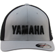 Silver/Black Yamaha Retro Mesh Fitted Hat