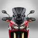 Dark Tint 17.25 in. VSTREAM Sport/Touring Lexan Polycarbonate Windshield - N20057