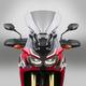 Light Gray 20.25 in. VSTREAM Sport/Touring Lexan Polycarbonate Windshield - N20058