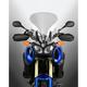 Light Gray 21.5 in. VSTREAM Sport/Touring Lexan Polycarbonate Windshield - N20305