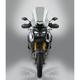 Light Gray 21.75 in. VSTREAM Sport/Touring Lexan Polycarbonate Windshield - N20320