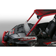 Clear 10.92 in. Low 3-D Lexan/Polycarbonate Quantum Hardcoated Windshield - N30230