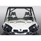 Clear 10.25 in.  Low Lexan/Polycarbonate Quantum Hardcoated Windshield - N30400