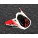 Gloss Black Supertech M8 Triple Helmet Visor - 8981419-1180