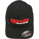 Black Honda Racing Fitted Hat