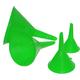 4 Piece Plastic Funnel Set - 16030