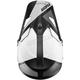 Black/White Sector Blade Visor Kit - 0132-1319