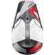 Charcoal/White Sector Blade Visor Kit - 0132-1322