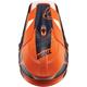 Orange/Navy Sector Split Visor Kit - 0132-1331