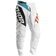 Youth White/Aqua Sector Blade Pants