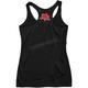 Women's Black Rose Tank Top