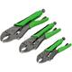3 Piece Locking Pliers Set - 57467