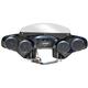 Black 4-Speaker Batwing Fairing - STSLIM18525