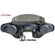 Black 2-Speaker Batwing Fairing - STSLIM1865