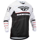 Youth Black/White/Red Kinetic K120 Jersey