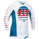Youth Blue/White/Red Kinetic K220 Jersey