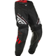 Youth Red/Black/White Kinetic K220 Pants