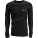 Black Thermal Long Sleeve Shirt
