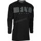 Black/Grey Windproof Jersey