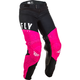 Girls Neon Pink/Black Lite Pants