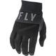 Youth Black/Grey F-16 Gloves