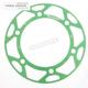 Green Edge Rear Sprocket Insert - RACD48641GRN