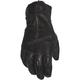 Women's Black Duchess Leather Gloves