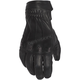 Women's Black Onyx Leather Gloves