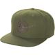 Olive Terra Wool Trucker Snapback Hat - F09006600000-301