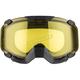 Matte Black 210 Degree Trail Goggles w/Yellow Dual Pane Lens - 507088#