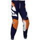 Youth Midnight/White/Orange Clutch MX Pants