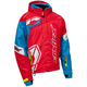 Red/Process Blue/White Code Jacket