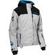 Women's Silver/Black/Process Blue Powder G2 Jacket