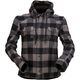 Women's Gray/Black  Timberella Flannel Shirt