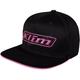 Black/Knockout Pink Slider Hat - 4043-002-000-001