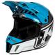 Vivid Blue F3 Disarray Helmet - ECE-Only